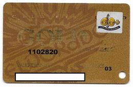 ElDorado Casino, Reno, NV,  U.S.A., Older Used Slot Or Player's Card, # Eldorado-8 - Casino Cards