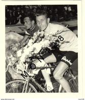 JACQUES ANQUETIL SAINT RAPHAEL- PHOTO 10x12 Cms - Ciclismo