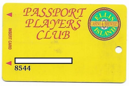 Ellis Island Casino, Las Vegas, Older Used Slot Or Player's Card,  # Ellisisland-1 - Casino Cards