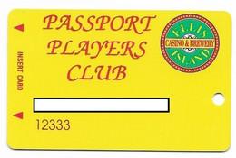 Ellis Island Casino, Las Vegas, Older Used Slot Or Player's Card,  # Ellisisland-2 - Casino Cards