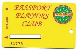 Ellis Island Casino, Las Vegas, Older Used Slot Or Player's Card,  # Ellisisland-3 - Casino Cards