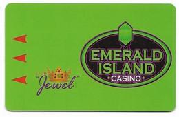 Emerald Island Casino, Henderson, NV,  U.S.A., Older Used Slot Or Player's Card, # Emerald1blank - Casino Cards