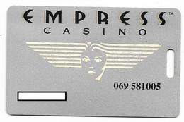 Empress Casino, Joliet, IL, U.S.A., Older Used Slot Or Player's Card,  # Empress-1 - Casino Cards
