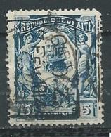 Haïti YT N°145 Président Pierre Nord Alexis Surchargé GL O.Z 7 Fév. 1914 Oblitéré ° - Haiti