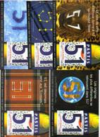 """5 Cartes Postales """"Cart'Com"""" - Série """"Divers, Presse, Média,..."""" Pastis 51 (Pastis De Marseille) - Advertising"""