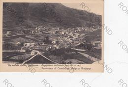 CARTOLINA  VALBRONA,COMO,LOMBARDIA,SOGGIORNO DELIZIOSO (494m.) PANORAMA DI CANDALINO,OSIGO E MAISANO,NON VIAGGIATA - Como
