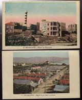 1920's BEYROUTH : 10 Cartes Anciennes Et Originales - Lebanon