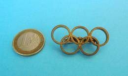 OLYMPIC GAMES - Nice Vintage Olympics Pin Badge * Larger Size * Jeux Olympiques Olympia Olimpiadi Olimpici Olympiade - Giochi Olimpici