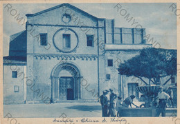 CARTOLINA  SASSARI,SARDEGNA,CHIESA S.MARIA,MEMORIA,STORIA,RELIGIONE,BELLA ITALIA,IMPERO ROMANO,VIAGGIATA 1951 - Sassari