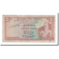 Billet, Ceylon, 2 Rupees, 1972, 1972-05-12, KM:72c, B - Central African Republic