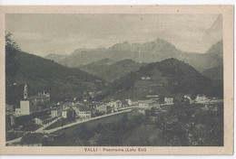 Valli - Panorama (Lato Est) - Vicenza - Valli Del Pasubio 1940 Ca - Otras Ciudades
