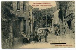SAINT-VAURY. Rue Saint-Michel. Ed. Anglade. - Other Municipalities