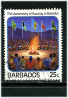 Barbades 1987 Scoutisme ° - Barbados (1966-...)