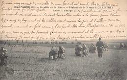 51 - Militaria - Campagne 1914 - Bataille De La Marne - Plaines De La Marne à Chaintrix - Avant La Charge - Oorlog 1914-18