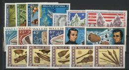 WALLIS ET FUTUNA N° 185 à 202 Cote 87,80 € Neufs ** (MNH) TB - Unused Stamps