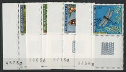 WALLIS ET FUTUNA N° 185 à 188 Cote 32 € Neufs ** (MNH) TB (Tous Avec Coin De Feuille Numéroté) - Unused Stamps