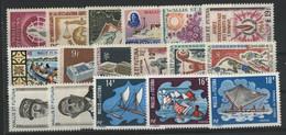WALLIS ET FUTUNA N° 168 à 184 Cote 136,30 € Neufs ** (MNH) TB - Unused Stamps