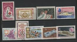 WALLIS ET FUTUNA N° 168 à 176 Cote 48,20 € Neufs ** (MNH) TB - Unused Stamps