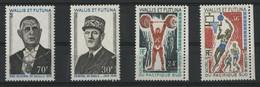 WALLIS ET FUTUNA N° 178 à 181 Cote 42,40 € Neufs ** (MNH) TB - Unused Stamps