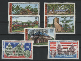 WALLIS ET FUTUNA N° 203 à 209 Cote 38,20 € Neufs ** (MNH) TB - Unused Stamps