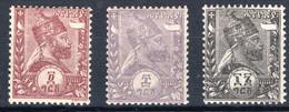 ÄTHIOPIEN, Michel No.: 5-7Pr MH - Ethiopië