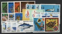 WALLIS ET FUTUNA N° 213 à 233 Cote 55,75 € Neufs ** (MNH) TB - Unused Stamps