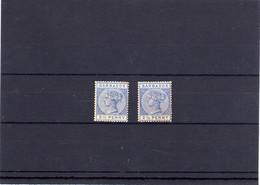 BARBADOS, Michel No.: 34a/b MH, Cat. Value: 280€ - Barbados (...-1966)