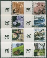 Österreich 2005 Ferienland Bauwerke Rand Mit Aufdruck 2509/16 Postfrisch - 2001-10 Unused Stamps