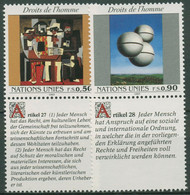 UNO Genf 1993 Erklärung Der Menschenrechte Picasso Gemälde 233/34 Zf Postfrisch - Unused Stamps
