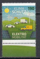 2016 Germany Green Energy Electric Cars Trucks Automobiles  Complete Set Of 1 MNH @ BELOW FACE VALUE - Milieubescherming & Klimaat