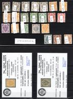 BOSNIEN UND HERZEGOWINA, Michel No.: 1-9I MH, Cat. Value: 1600€ - Sin Clasificación