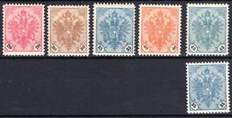 BOSNIEN UND HERZEGOWINA, Michel No.: 24-28 MNH, Cat. Value: 517€ - Sin Clasificación