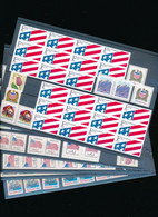 USA SELECTION OF NON DENOMINATED STAMPS B/C/D/F/G/E ALL WITH GUM MNH - Sammlungen