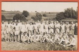 D54 - TOUL - Carte Photo - BAIGNADE DANS LA MOSELLE - 5e Cie - 15e GÉNIE - 7 JUILLET 1928 - Militaires - M. PECATE - Toul