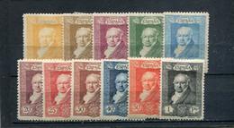 Espagne 1930 Yt 412-422 * - Unused Stamps