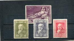 Espagne 1930 Yt 423 426-428 * - Unused Stamps