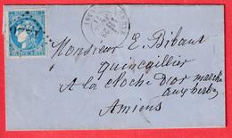 N°46B GC 1226 CREVECOEUR OISE POUR AMIENS SOMME 28 AVRIL 1871 - 1849-1876: Klassik