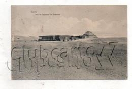 Le Caire (Egypte) : Vue De Sakkarah Et Pyramide Env 1910 (animé) PF. - Caïro
