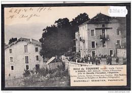 13230 FRD20A CPA POST CARD AK HOTEL DU TOURISME ZONZA PROP. GIUDICELLI TTB - Other Municipalities