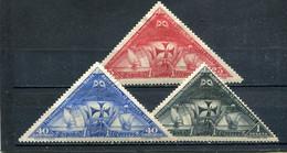 Espagne 1930 Yt 450 452 454 * - Unused Stamps
