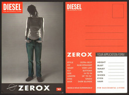 Diesel Zerox Girl  # 21515 - Advertising