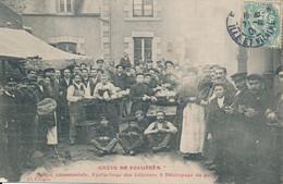 Fougères (35 Ille Et Vilaine) Grève De Fougères Soupe Communiste épluchage Légumes Et Pain édit. Mabire Nouvelliste 1906 - Fougeres