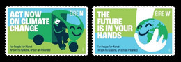 Ireland 2021 Mih. 2393/94 UN Campaign Against Climate Change Act Now. For People For Planet MNH ** - Nuovi
