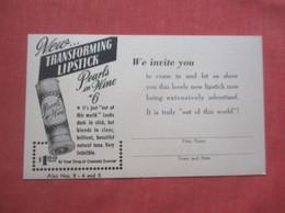 Pearls & Wine Lipstick      Ref  4984 - Advertising