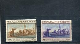 Espagne 1930 Yt 451 453 * - Unused Stamps