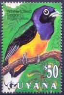 Guyana 1993 MNH, Birds, Green-backed Trogon - - Cuckoos & Turacos