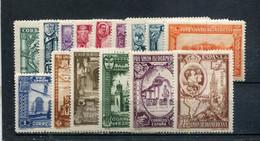 Espagne 1930 Yt 457-471 * - Unused Stamps