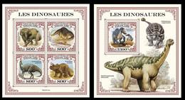 Togo 2021 Dinosaurs. (111) OFFICIAL ISSUE - Prehistóricos