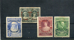 Espagne 1927 Yt 300-303 * - Unused Stamps