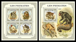 Togo 2021 Primates. (121) OFFICIAL ISSUE - Mono